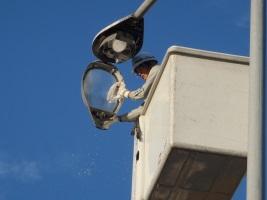 岩瀬漁港外灯修繕