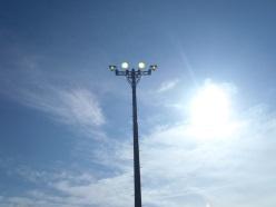 富山港4号岸壁外照明施設補修