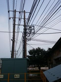 S社 酸素線ケーブル工事