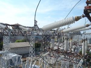 S社 全停電作業 66KVA点検工事