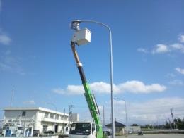 岩瀬漁港道路照明修繕