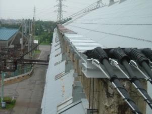 S社酸化チタン動力線復旧工事