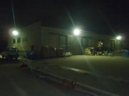 岩瀬船だまり照明施設整備