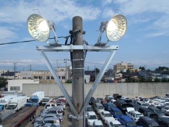 富山港3号岸壁照明盤修繕