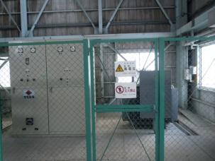昭和エンジニアリング S社 ASP設備 GN圧縮機電気設備工事