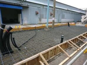 SDC社 集塵設備 電源配線工事