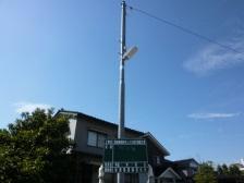 総曲輪校区外LED街灯設置工事