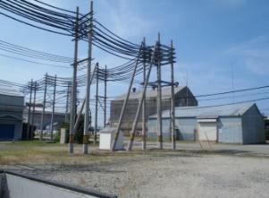 シャープ株式会社 富山工場 高圧ケーブル撤去工事