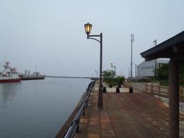 岩瀬運河遊歩道照明修繕